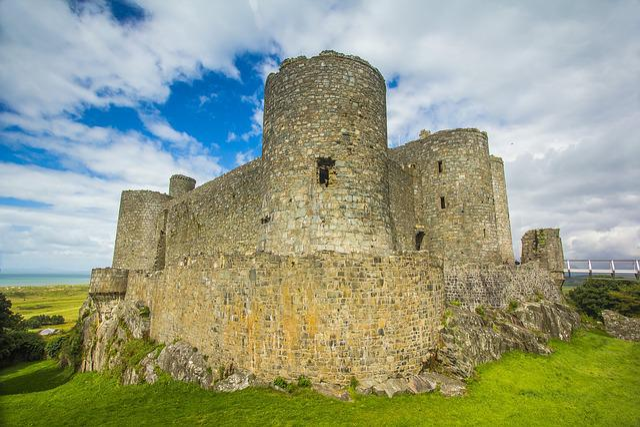 Harlech Castle, Historical Monument, Building