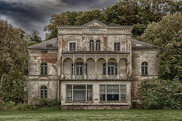 Lost Places, Heiligendam, Villa, Ruin, Building