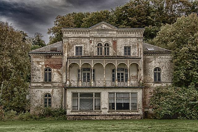 Lost Places, Heiligendam, Villa, Ruin, Building