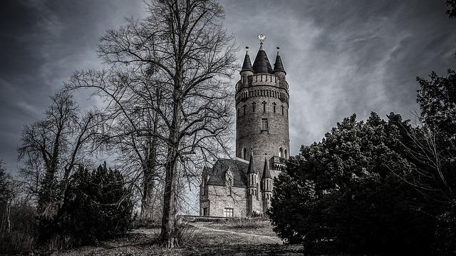 Architecture, Tower, High, Castle, Building