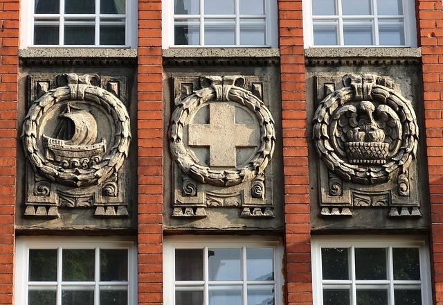 Bydgoszcz, Relief, Decor, Facade, Historic, Building