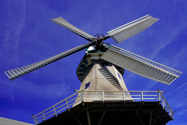 Windmill, Perspective, Wing, Historically, Building