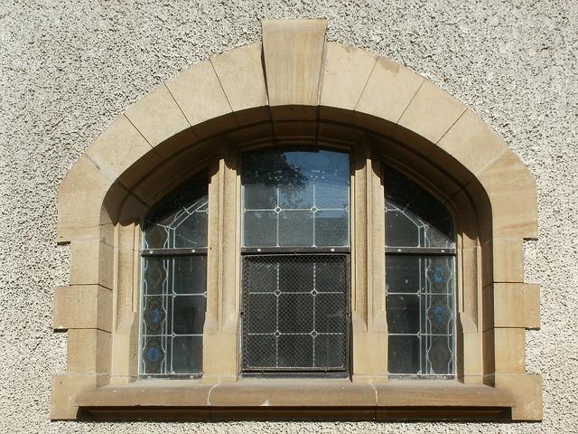 Church, Protestant, Hockenheim, Window, Building
