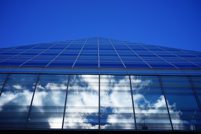 Glass, Glazing, Home, Building, Glass Pyramid, Ulm