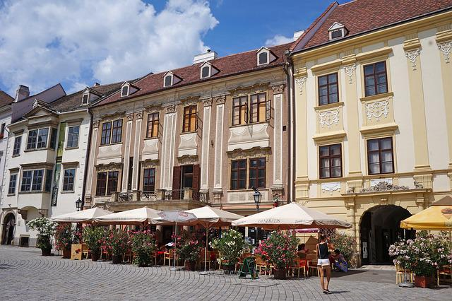 Hungary, Sopron Hungary, Main Square, Building