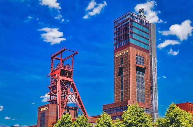 Mining, Tower, Building, Mine, Industrial, Business