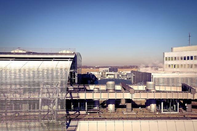 Airport, Architecture, Building, International, Modern