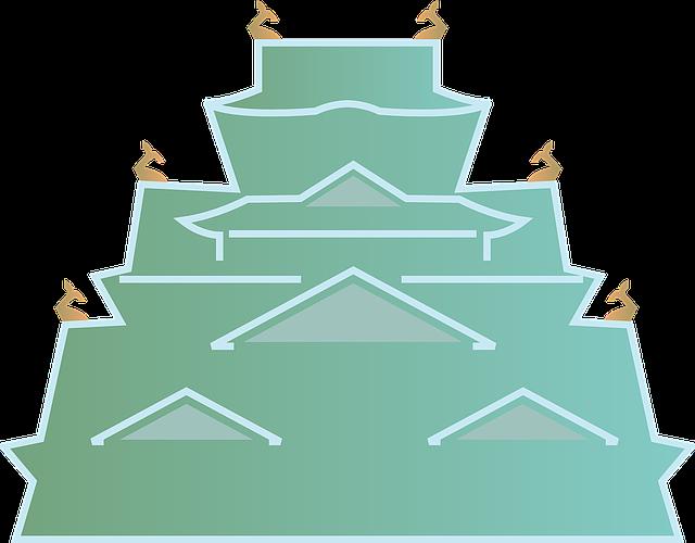Osaka Castle, Castle, Building, Japan, Osaka