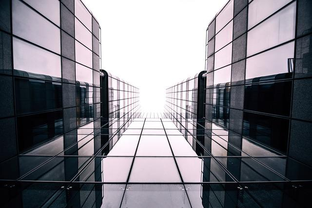 Architecture, Building, Glass, Low Angle Shot
