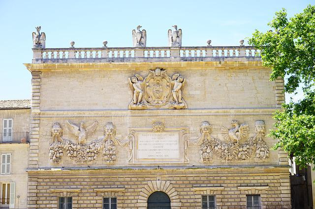 Mint, Avignon, Building, Old, France