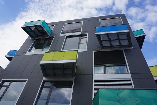 Balconies, Architecture, Building, Modern