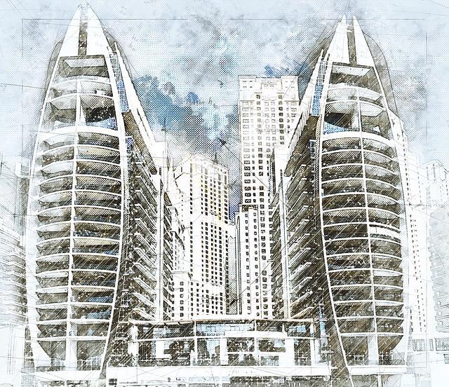 Architecture, Skyscraper, Dubai, Modern, Building, City