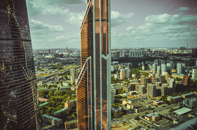 Moscow City, Skyscraper, Moscow, Russia, City, Building