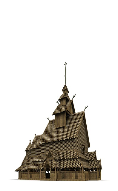 Stave Church, Norway, Architecture, Building, Church