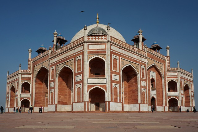 Delhi, Architecture, Travel, Building, Old, Arch