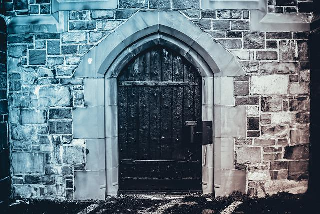 Doors, Wall, House, Building, Entry, Old, Architecture