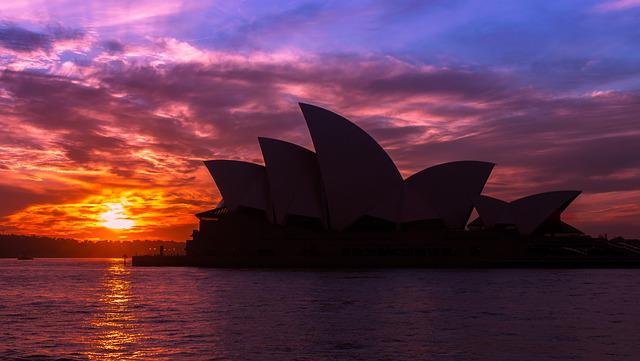 Sydney Opera House, Opera House, Building, Architecture