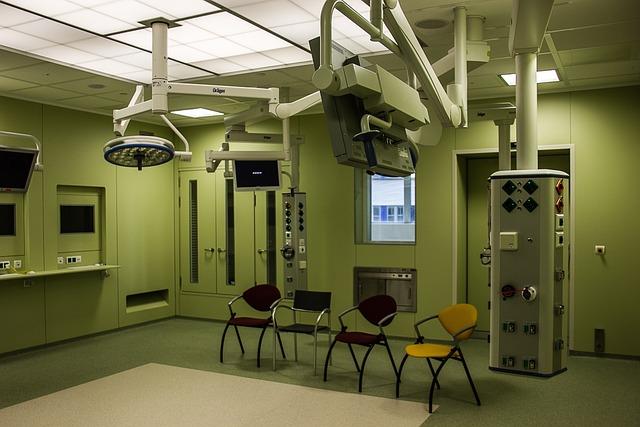 Hospital, Operating Room, Building