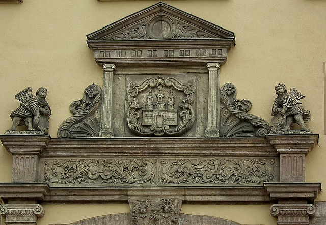 Building, Relief, Artfully, Zschopau, Ore Mountains