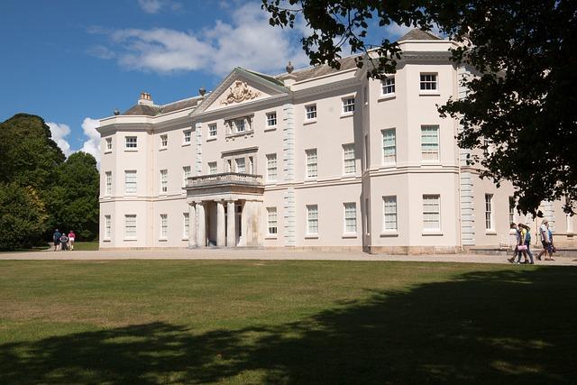 Saltram House, Home, Property, Building, South Facade