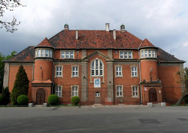 Architecture, House, Old, Building, School, Poznan