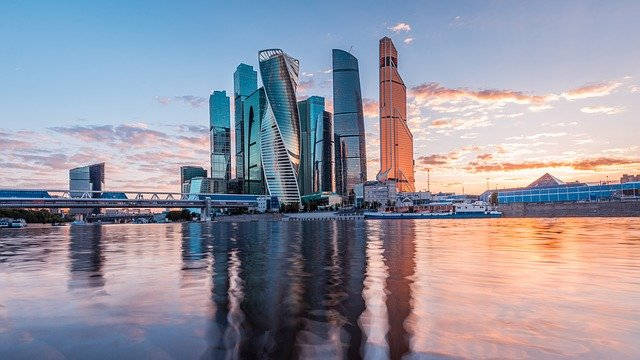 Moscow, City, Moscow City, Building, Skyscraper
