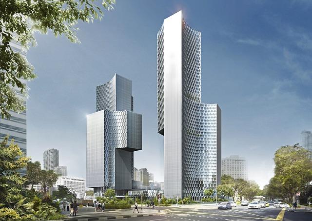 City, Urban, Skyscrapers, Building, Architecture