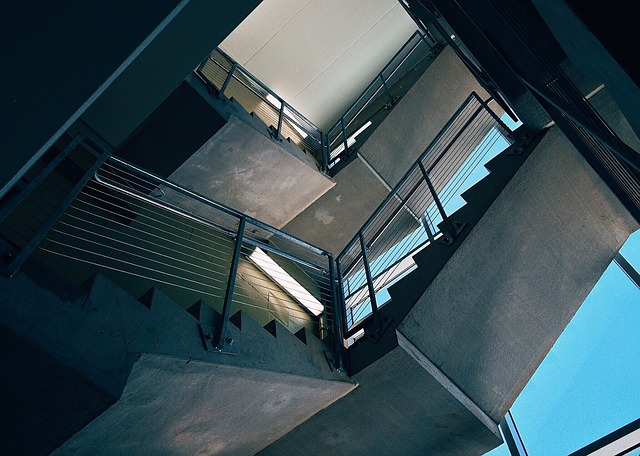 Stairs, Stairwell, Architecture, Building, Steps
