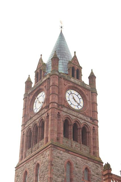 Guildhall, Building, Monuments, Tower Clock