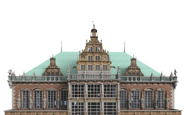 Bremen, Town Hall, Dome, Architecture, Building, Church