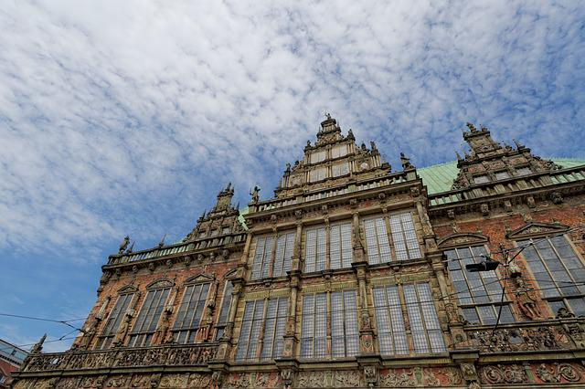 Town Hall, Bremen, Germany, Historically, Building