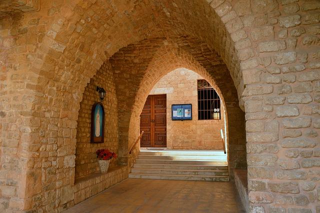 Architecture, Building, Vault, Arches, Input