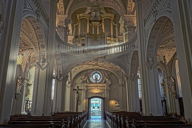 Architecture, Church, Building, Vault, Interior