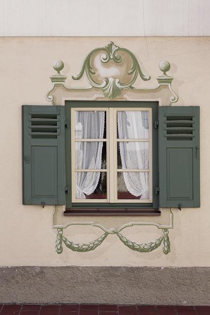 Home, Window, Ornament, Architecture, Retro, Building