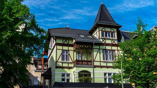 Architecture, Home, Building, Wood, Truss, Old