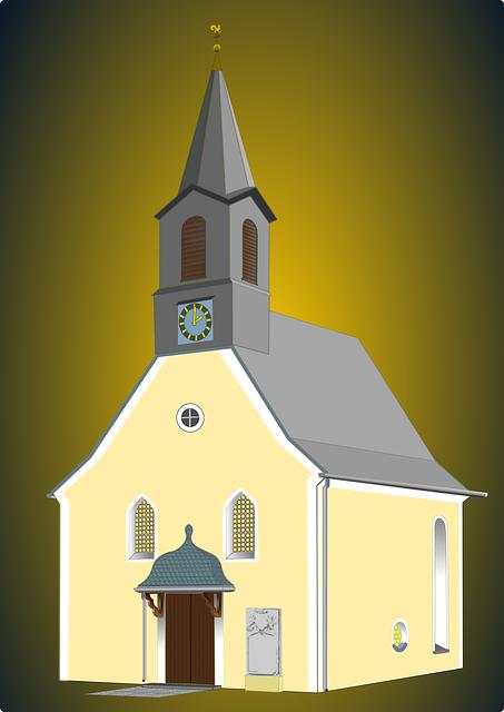 Church, Buildings, Christian, Clergy, Spire, Steeple