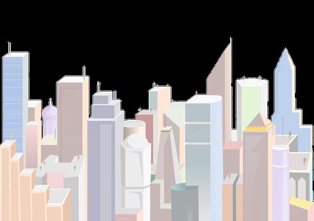 City, Urban, Buildings, Skyscraper, Architecture