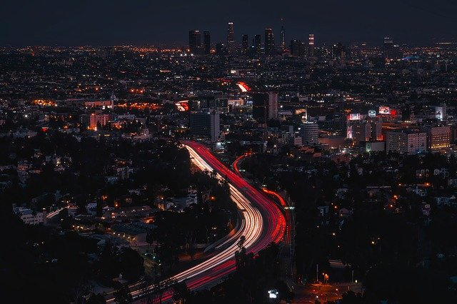 Los Angeles, California, City, Urban, Buildings