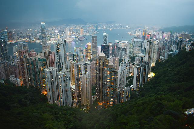 City, Hong Kong, Cityscape, Building, Buildings