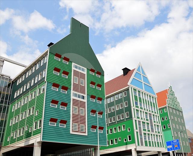 Zaandam, Traditional Style, Holland, Buildings, Dutch