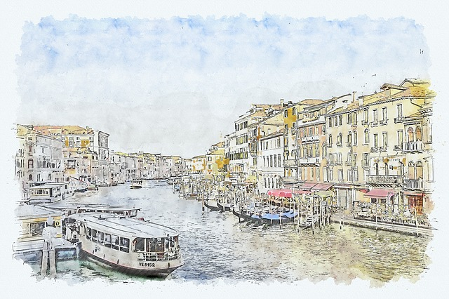 Venice, Italy, Architecture, Channel, Buildings