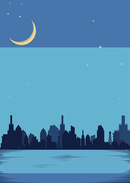 City, Night, Lights, Cityscape, Urban, Buildings