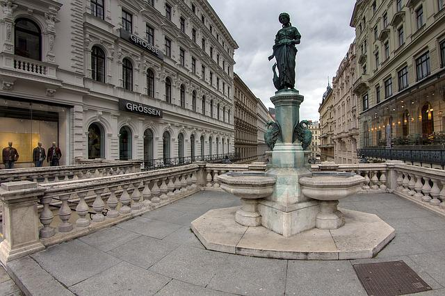 Vienna, Downtown, Monument, Buildings