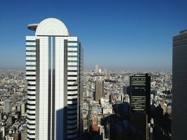 Shinjuku Ku, Building, Buildings Skyscrapers Urban