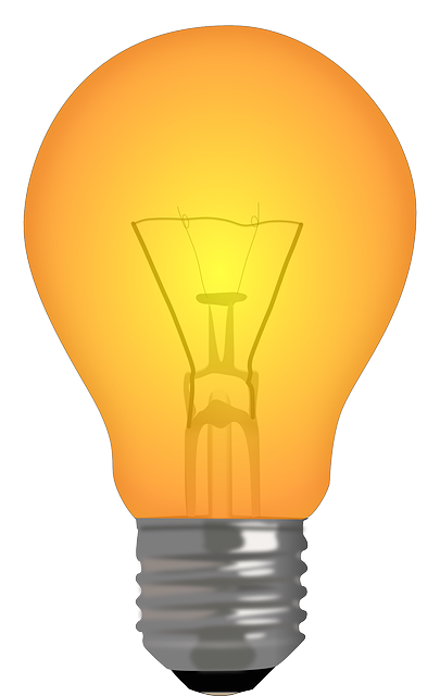 Light, Bulb, Filament, Lamp, Orange, Technology