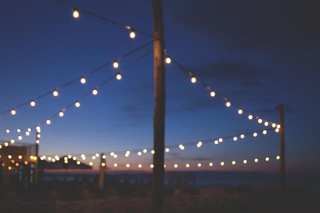 Blue, Bokeh, Bulb, Bulbs, Decoration, Dusk, Evening