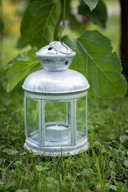 Lantern, Bulbs, Deco, Gartendeko, Decoration, Close