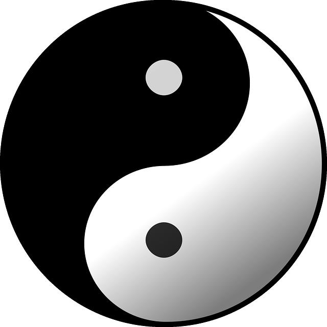 Taijitu, Yin, Yang, Ball, Bull, Circle, Round, Chinese