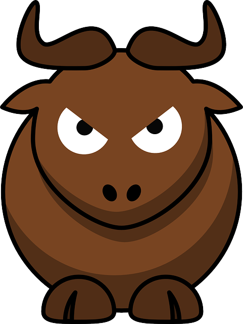 Gnu, Angry, Animal, Cute, Funny, Mammal, Bull