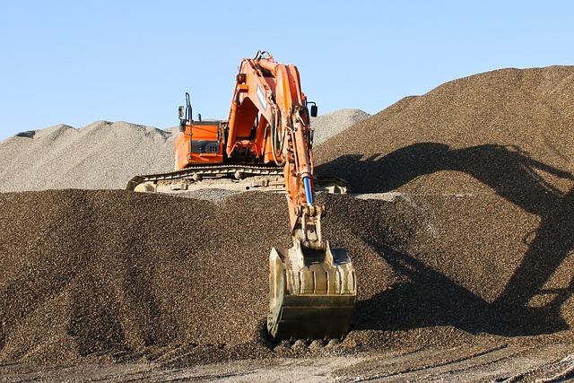 Mine, Industry, Scoop, Bulldozer, Machine